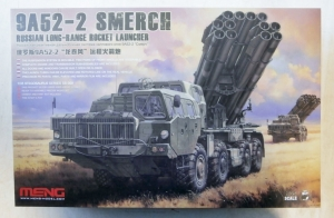 MENG 1/35 SS-009 9A52-2 SMERCH RUSSIAN LONG RANGE ROCKET LAUNCHER  UK SALE ONLY