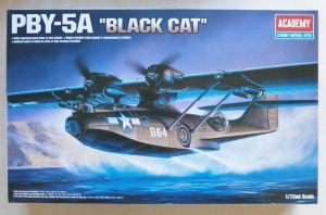 ACADEMY 1/72 12487 PBY-5A BLACK CAT