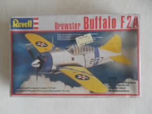 REVELL 1/72 4172 BREWSTER BUFFALO F2A