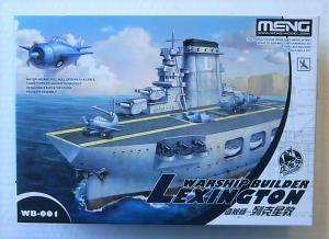MENG  WB-001 WARSHIP BUILDER LEXINGTON CARTOON SHIP