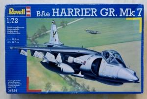 REVELL 1/72 04634 BAe HARRIER GR. Mk.7