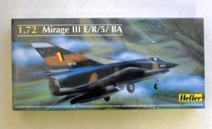 HELLER 1/72 80323 MIRAGE III E/R/5BA