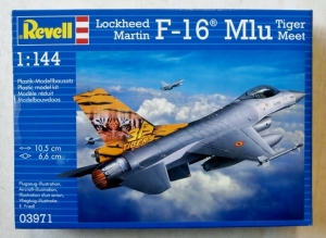 REVELL 1/144 03971 LOCKHEED MARTIN F-16 MLu TIGER MEET