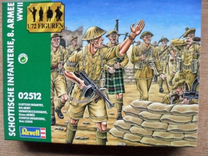 REVELL 1/72 02512 SCOTTISH INFANTRY 8th ARMY WWII