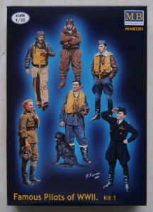 MASTERBOX 1/32 3201 FAMOUS PILOTS OF WWII KIT 1