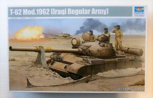 TRUMPETER 1/35 01548 T-62 MOD.1962  IRAQI REGULAR ARMY