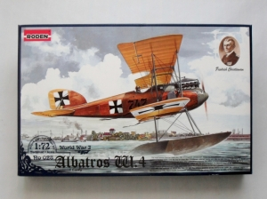 RODEN 1/72 028 ALBATROS W.4 EARLY
