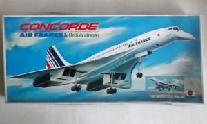 NITTO 1/100 CONCORDE AIR FRANCE   BRITISH AIRWAYS