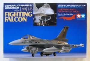 TAMIYA 1/72 60701 GENERAL DYNAMICS LOCKHEED F-16 FIGHTING FALCON