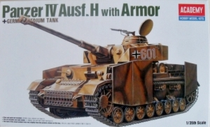 ACADEMY 1/35 13233 PANZER IV Ausf.H WITH ARMOUR