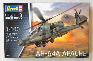 REVELL 1/100 04985 AH-64A APACHE