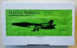 MAGNA 1/72 4572 SUPERMARINE SWIFT F7