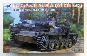 BRONCO 1/35 35134 Pz.Kpfw.III Ausf.A  Sd.Kfz 141