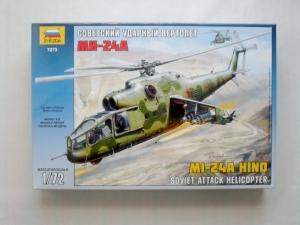ZVEZDA 1/72 7273 Mi-24A HIND