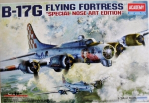 1/72 12414 B-17G FLYING FORTRESS NOSE ART EDITION