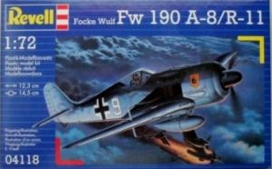 REVELL 1/72 04118 FOCKE-WULF Fw 190 A-8/R-11