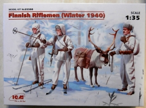 ICM 1/35 35566 FINNISH RIFLEMEN  WINTER 1940