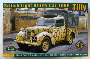 ACE 1/72 72500 BRITISH LIGHT UTILITY CAR 10HP TILLY