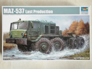 TRUMPETER 1/35 01006 MAZ-537 LAST PRODUCTION