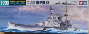 TAMIYA 1/700 31617 HMS REPULSE