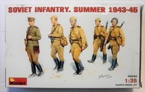 MINIART 1/35 35044 SOVIET INFANTRY SUMMER 1943-45