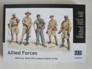 MASTERBOX 1/35 3594 ALLIED FORCES WWII ERA NORTH AFRICA