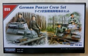 TRISTAR 1/35 35055 GERMAN PANZER CREW SET