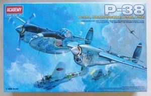 ACADEMY 1/48 12282 P-38J DROOPSNOOT P-38L F5E