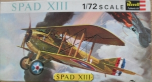REVELL 1/72 H627SFB SPAD XIII