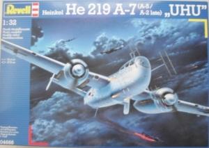 REVELL 1/32 04666 HEINKEL He 219 A-7 UHU