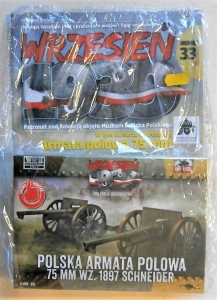 FIRST TO FIGHT 1/72 033 POLISH FIELD CANNON 75mm SCHNEIDER