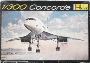 HELLER  006 CONCORDE 1/300