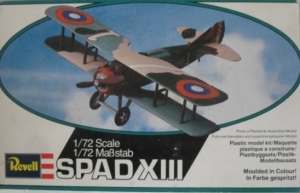 REVELL 1/72 4109 SPAD XIII