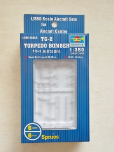 TRUMPETER 1/350 06248 TG-2 TORPEDO BOMBER