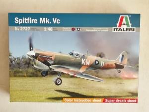 ITALERI 1/48 2727 SPITFIRE Mk. Vc