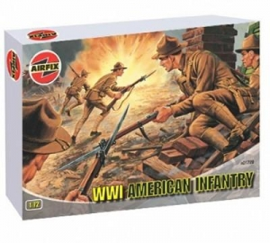 AIRFIX 1/72 01729 WWI U.S. INFANTRY