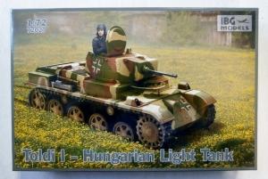 IBG MODELS 1/72 72027 TOLDI I HUNGARIAN LIGHT TANK