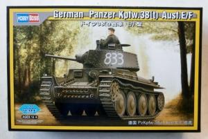 HOBBYBOSS 1/35 80136 PANZER Kpfw.38 t  Ausf.E/F