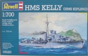 REVELL 1/700 05120 HMS KELLY  HMS KIPLING