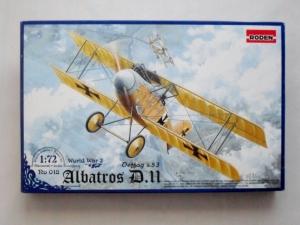 RODEN 1/72 018 ALBATROS D.III OEFFAG s.53