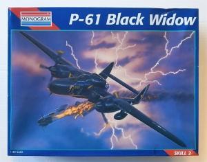 MONOGRAM 1/48 7546 P-61 BLACK WIDOW