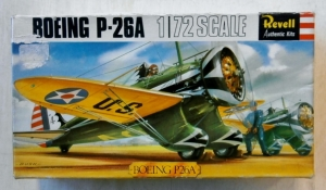 REVELL 1/72 H656SFB BOEING P-26A
