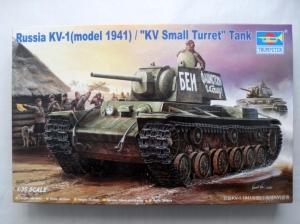 TRUMPETER 1/35 00356 KV-1 MODEL 1941 SMALL TURRET