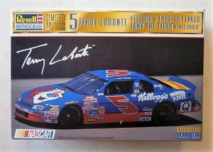 REVELL 1/24 85-4114 5 TERRY LABONTE KELLOGGS FROSTED FLAKES TONY THE TIGER