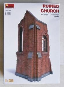 MINIART 1/35 35533 RUINED CHURCH