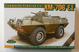 ACE 1/72 72431 XM-706 E1 COMMANDO ARMOURED CAR