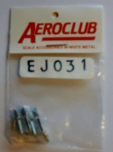 AEROCLUB 1/72 EJ031 LOCKHEED F-104 EJECTION SEATS