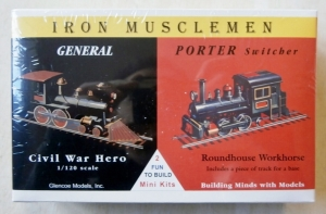 GLENCOE  03603 IRON MUSCLEMEN GENERAL   PORTER SWITCHER 1/120