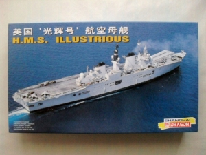 DRAGON 1/700 7033 HMS ILLUSTRIOUS
