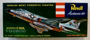 REVELL  H-190 89 McDONNELL F-101A VOODOO S TYPE BOXING